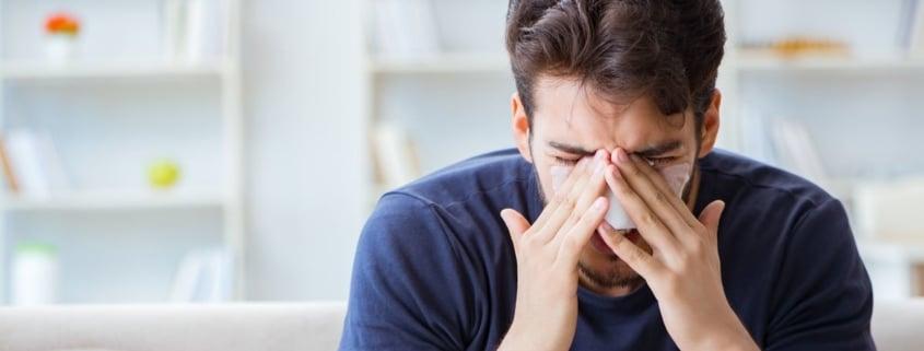 σπάσιμο μύτης κάταγμα μύτης